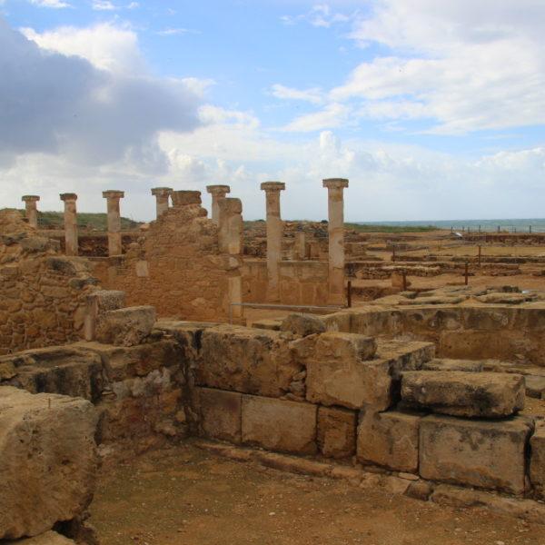 Altertümliche Ausgrabungen in Paphos