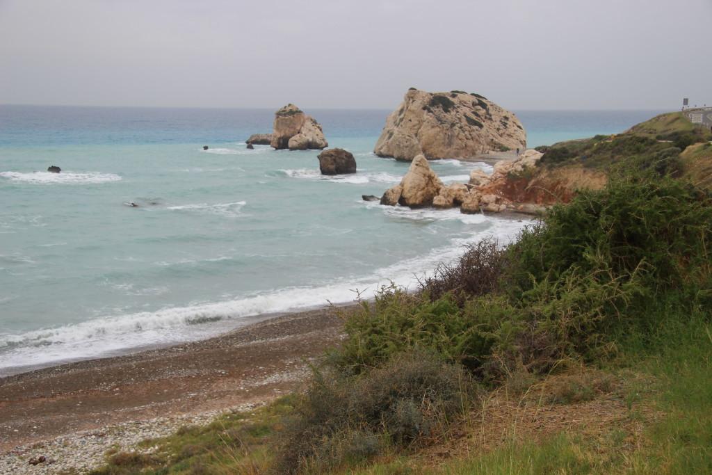 Aphrodite's Rock - Hier soll Aphrodite aus dem Meeresschaum entsprungen sein