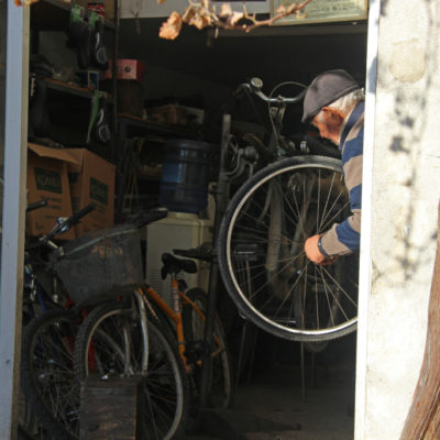 Fahrradwerkstadt in Nikosia