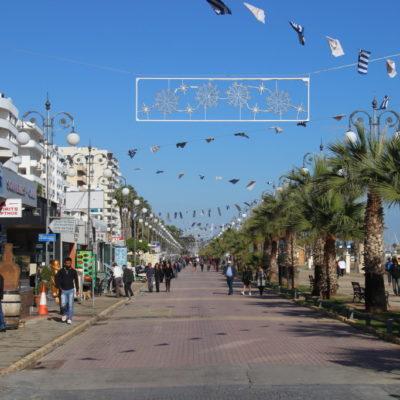 Foinikoudes Promenade in Larnaca