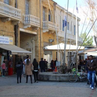 Grenzübergang in Nikosia
