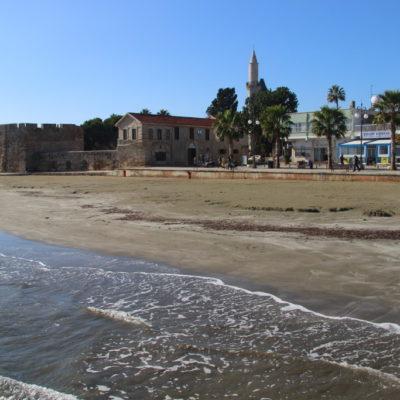 Kastell am Strand von Larnaka