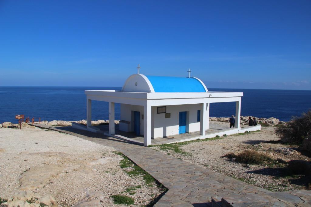 Kirche am Fuß von Cap Greco - Kapelle Agioi Anargyroi