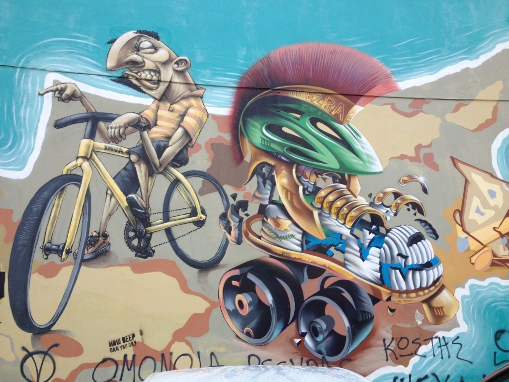 Streetart in Larnaca