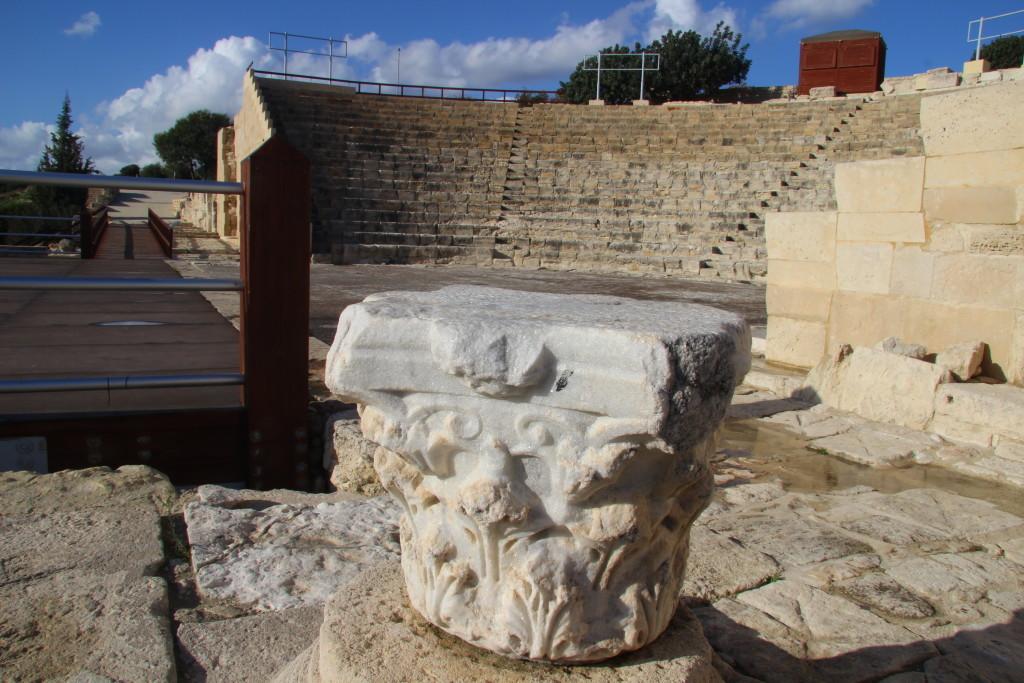 Teatro Greco - Das griechisch-römische Theater in Kourion