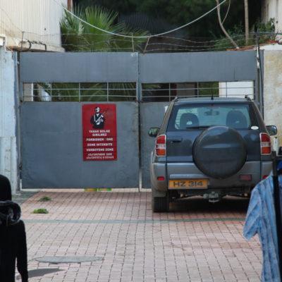 Verbotene Zone in Nikosia / Lefkosia