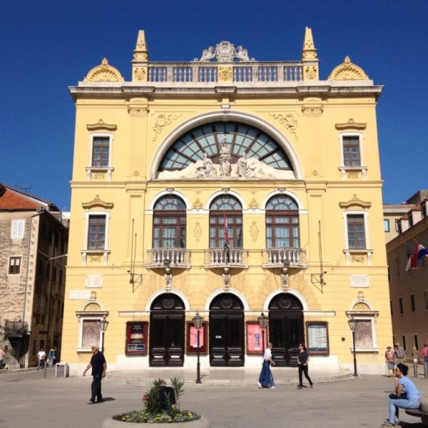 Kroatisches Nationaltheater in Split
