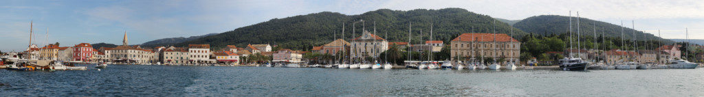Panorama von Stari Grad auf Insel Hvar