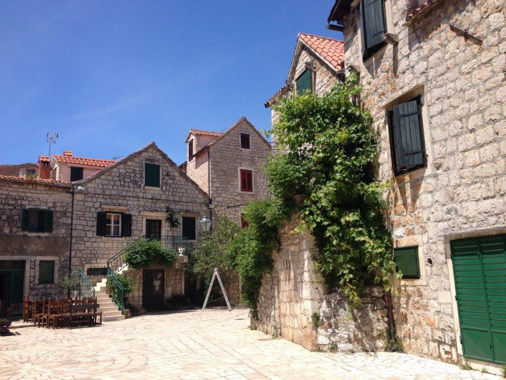Steinhaus in Stari Grad auf der Insel Hvar